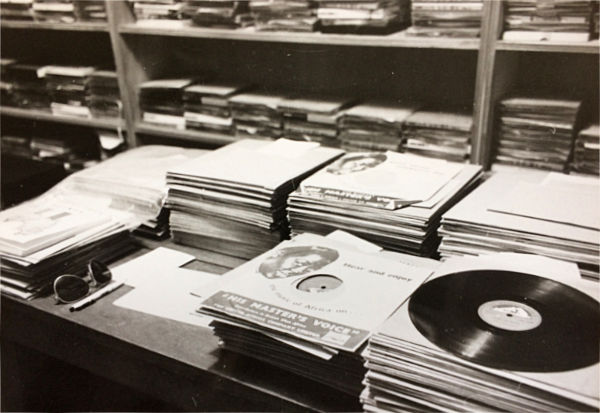 Gramophone library of the SLB
