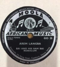 """""""Farewell to the Queen"""" – African Music on Shellac Discs. The gramophone library of the Sierra Leone Broadcasting Service"""