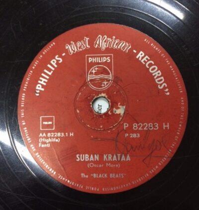 Label Philips P 82283 Suban Krataa, The Black Beats