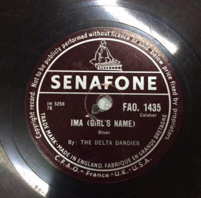 Label Senafone FAO 1435 Ima, The Delta Dandies