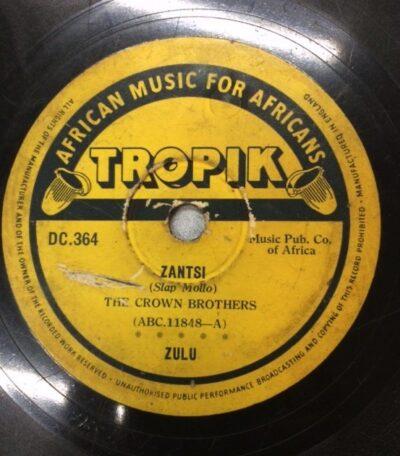 Label Tropik  DC 364 Zantsi by The Crown Brothers