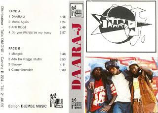 Cover cassette: Daara-J