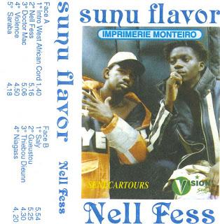 Cover cassette: Sunu Flavor -  Nell Fess