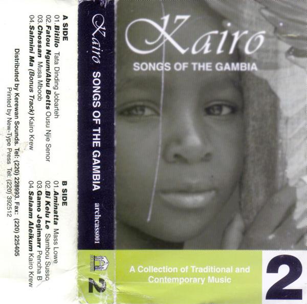 Cover of the cassette Kairo